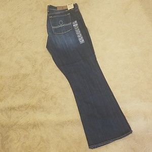 Lucky Brand Sofia Bootcut Jean's Size 14/32 Ankle